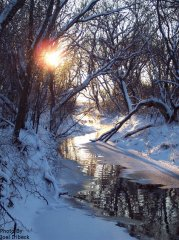 Photo of Sun on River by Joel Irlbeck.
